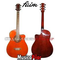 Guitarra Electroacustica Faim 708eq Corte Musica Pilar