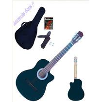 Guitarra Electroacustica Criolla + Set Accesorios *promo*