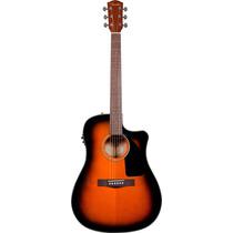 Guitarra Fender Cd-60ce Sunburst 096-1536-232 Nueva Garantía