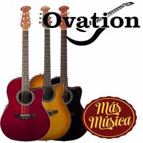 Ovation Guitarra Electroacustica Applause Balladeer Ab24