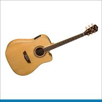 Washburn Wd30 Sce, Guitarra Electroacustica