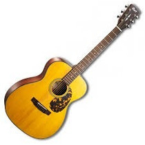 Guitarra Electro Acustica Cort Incluye Funda L300vf-nat