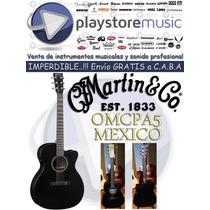 Martin & Co Guitarra Electro Acústica Modelo Omcpa5 Nuevas