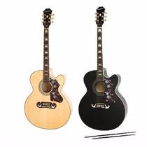 Guitarra Electro Acustica Epiphone Ej-200ce