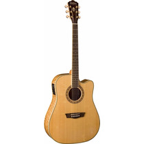 Washburn Wd30 Sce Guitarra Electro Acustica Audiomasmusica