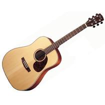 Guitarra Electro Acustica Cort Incluye Funda Earth-100f-ns