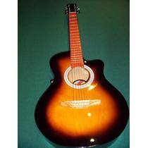Guitarra Electroacustica Luthier T/gracia Accord Permutas