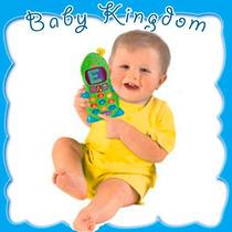 Telefono Celular Fisher Price Para Bebe-niños. Musical Y Luz