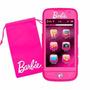 Celular Barbie Telefono De Juguete Con Funda Original Intek