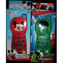 Teléfono Celular Infantil Con Luz Y Sonidos