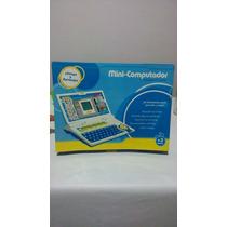 Mini Computadora Infantil Con 20 Actividades Para Aprender