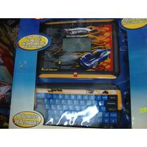 Computadora Didactica Escritorio Hot Wheels 96 Actividades