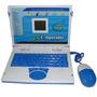 Computadora Netbook Laptop Azul Nene Didactica 25 Actividade