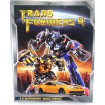Tablet Infantil P/ Aprender Jugando Transformers