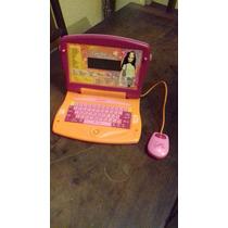 Computadora Barbie Castellano E Ingles Juego Didactico