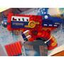 Pistola Lanzadora Super Heroes 6 Dardos Sup Grande Excelente