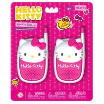 Walkie Talkie Hello Kitty - Cuartito Azul - Original Intek