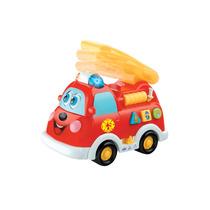 Camion Auto Bombero Musical Budada Con Luz Y Sonido