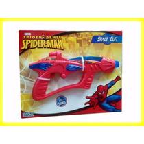 Spiderman Space Gun Pistola Con Luz Y Sonido Original Ditoys