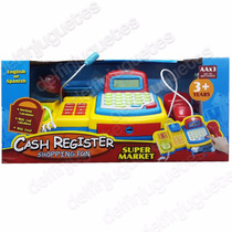 Caja Registradora Calculadora Real Bilingüe Micrófono