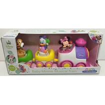 Trencito Musical Minnie Disney Baby Con Pilas Zap 14850