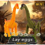 Dinosaurio Proyecta, Camina, Pone Huevos Y Hace Luz Y Sonido