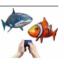 Tiburon Gigante - Globo Volador A Control Remoto Real