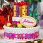 Torta Juliana De Cumpleaños Con Luces Y Sonido Bilingue