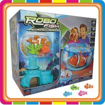 Robo Fish - Set Completo Pecera + Pez - Intek - Mundo Manias