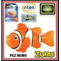 Robo Fish Pez Robotico Payaso / Nemo + Corales Intek De Tv