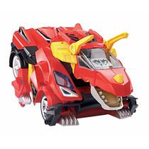 Auto A Control Remoto Convertible A Dinosaurio Robot Vtech