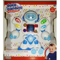 Robot Interactivo Bilingüe Ditoys Jugueteria Bloque