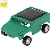 Mini Auto Solar Para Armar No Requiere Bateria