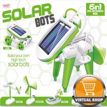 Juguete Solar 6en1 P/ Armar Robot Auto Lancha Drone Original