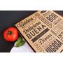 Cajas Pizza Impresas Con Tu Logo - 1 Solo Color - Frente