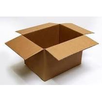 Cajas En Carton Corrugado 25largo X 15ancho X 12 Alto