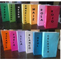 Bolsas De Papel Golosineras Souvenir V/colores! X50 C/envio