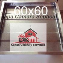 Tapa Camara Septica Inspeccion Cloacal 60x60 Cm Merc Envios