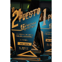 Trofeos En Madera