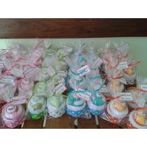 Souvenirs Cup Cakes Toalla Con Jabon