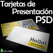 Plantillas Psd De Tarjetas Presentación Editable Profesional