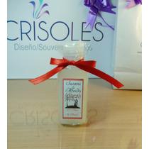 40 Souvenir Crisoles/jabón Líquido/personalizado/eventos