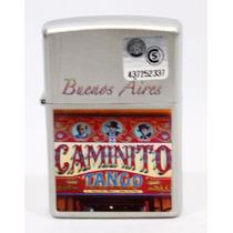 Encendedor Zippo 205/704 Argentina Caminito Bsas Tango