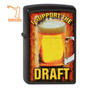Encendedor Zippo - I Support The Draft Vaso De Cerveza