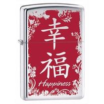 Encendedor Zippo 28067 Clasico Happiness Simbolo Chino