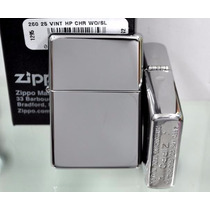 Encendedor Zippo 260.25 Vintage Cromo Pulido