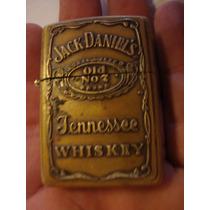 Antiguo Encendedor Zippo Propaganda Whisky Jack Daniels