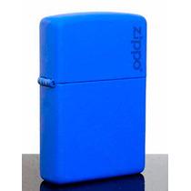 Encendedor Zippo 229zl Clasico Zippo Logo Azul Mate