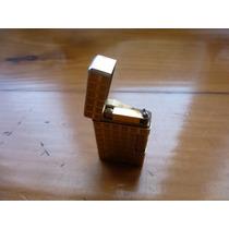 Antiguo Encendedor Component A Gas Bañado En Oro Tipo Dupont