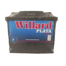 Bateria Para Autos Willard Ub670 Blindada Twingo, 206, C3.